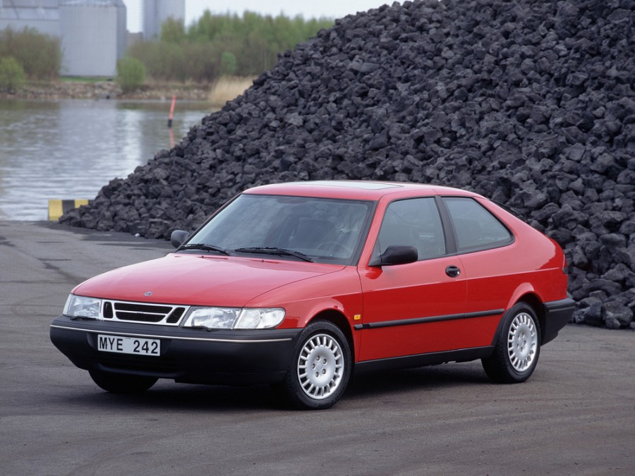 Saab 900 купе, 1993–1998, 2 поколение - отзывы, фото и характеристики на Car.ru