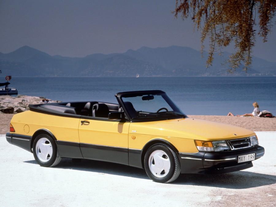 Saab 900 кабриолет, 1979–1994, 1 поколение - отзывы, фото и характеристики на Car.ru