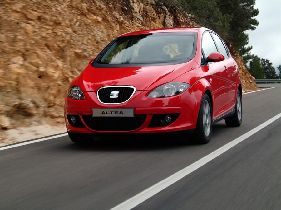 Seat Altea минивэн, 2004–2009, 1 поколение - отзывы, фото и характеристики на Car.ru