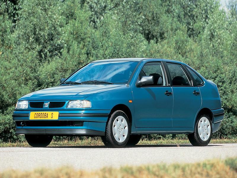 Seat Cordoba седан, 1993–1999, 1 поколение - отзывы, фото и характеристики на Car.ru