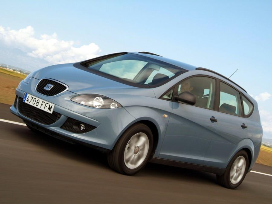 Seat Altea XL минивэн 5-дв., 2004–2009, 1 поколение - отзывы, фото и характеристики на Car.ru