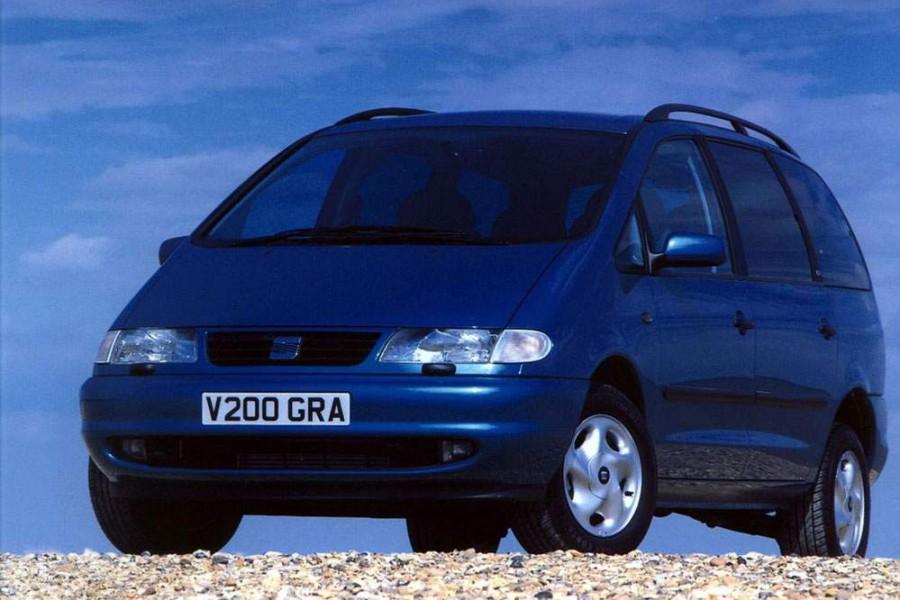 Seat Alhambra минивэн, 1996–2000, 1 поколение - отзывы, фото и характеристики на Car.ru