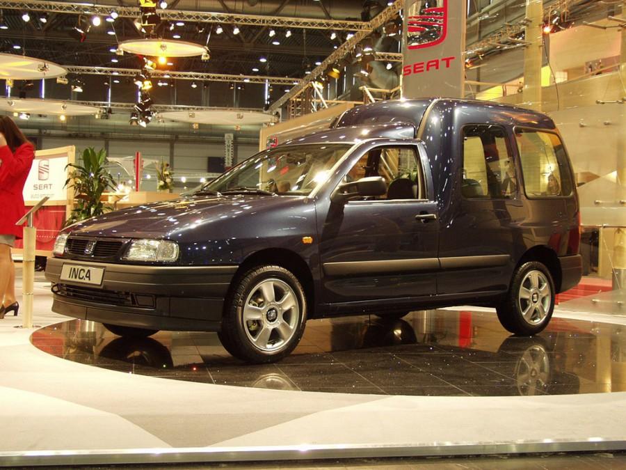 Seat Inca фургон 4-дв., 1995–2000, 1 поколение - отзывы, фото и характеристики на Car.ru
