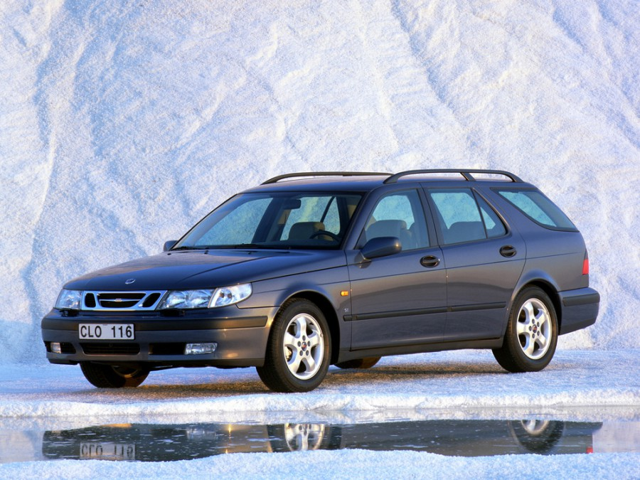 Saab 9-5 универсал, 1997–2005, 1 поколение - отзывы, фото и характеристики на Car.ru