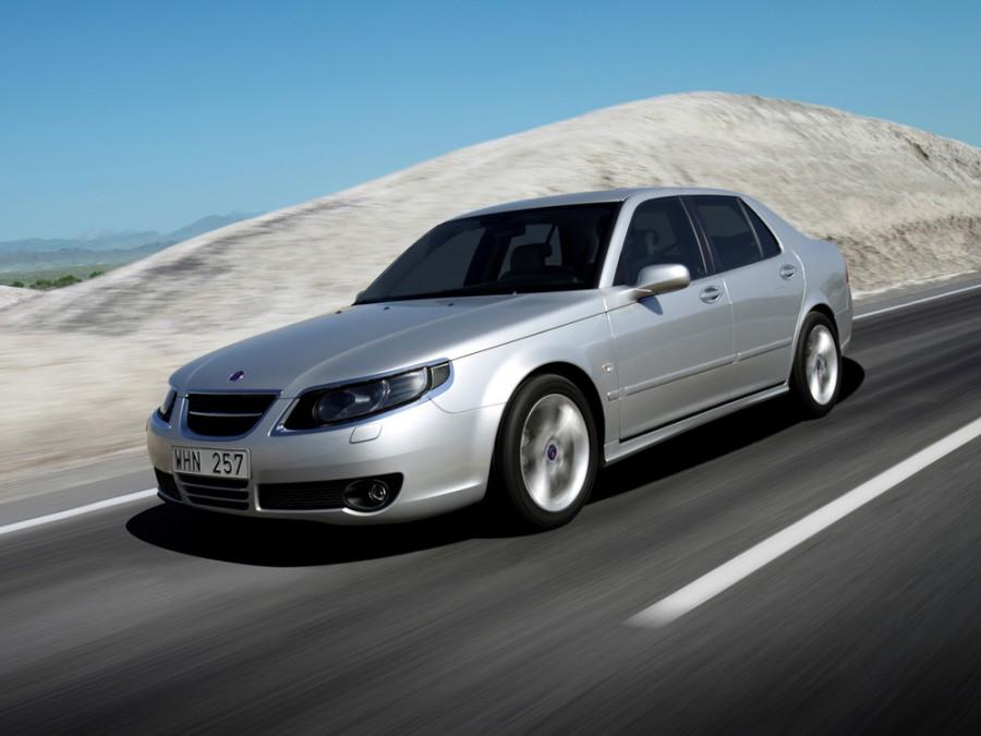 Saab 9-5 седан, 2005–2010, 1 поколение [рестайлинг] - отзывы, фото и характеристики на Car.ru