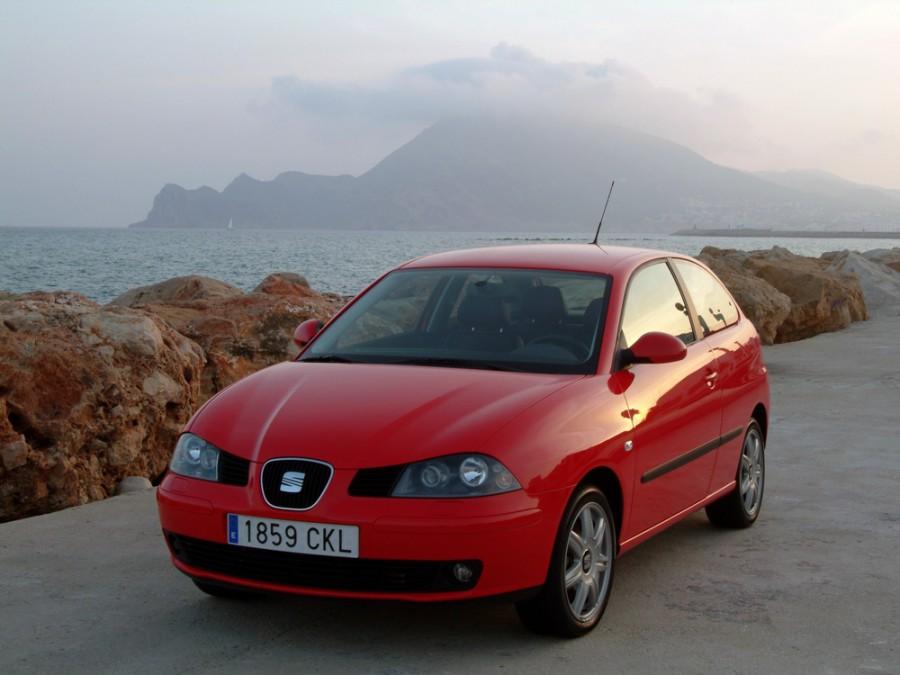 Seat Ibiza хетчбэк 3-дв., 2002–2006, 3 поколение - отзывы, фото и характеристики на Car.ru