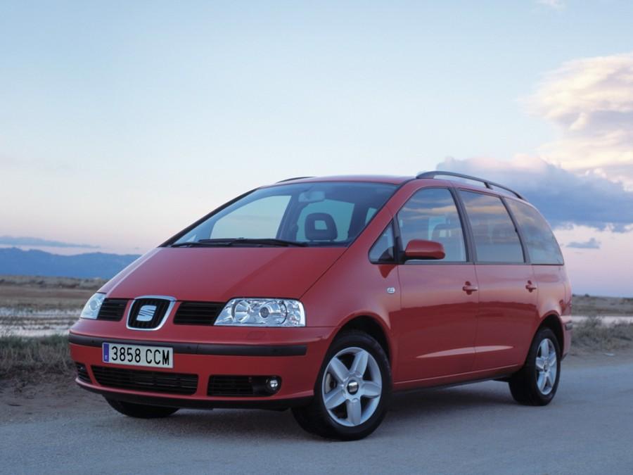 Seat Alhambra минивэн, 2000–2010, 1 поколение [рестайлинг] - отзывы, фото и характеристики на Car.ru