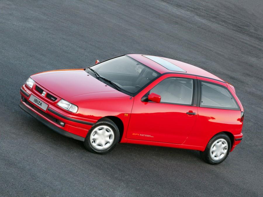 Seat Ibiza хетчбэк 3-дв., 1993–1999, 2 поколение - отзывы, фото и характеристики на Car.ru