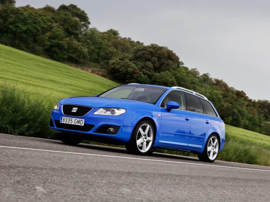Seat Exeo универсал, 2009–2012, 1 поколение - отзывы, фото и характеристики на Car.ru