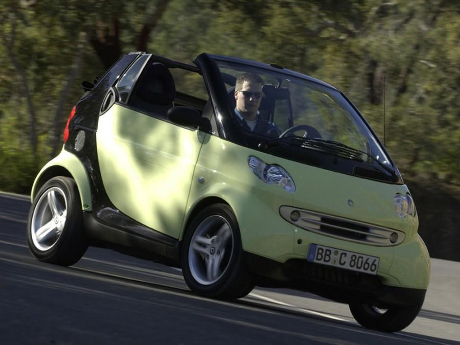 Smart Fortwo кабриолет, 2000–2007, 1 поколение [рестайлинг] - отзывы, фото и характеристики на Car.ru