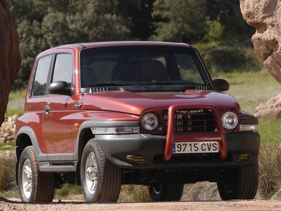 Ssangyong Korando Hard Top внедорожник 3-дв., 1997–2006, 2 поколение - отзывы, фото и характеристики на Car.ru