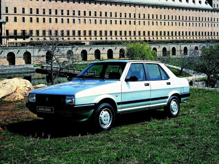 Seat Malaga седан, 1985–1993, 1 поколение - отзывы, фото и характеристики на Car.ru