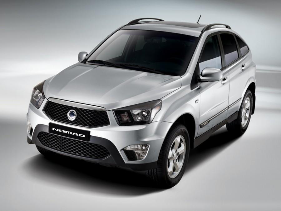 Ssangyong Nomad кроссовер, 2013–2015, C150 - отзывы, фото и характеристики на Car.ru