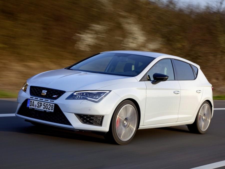 Seat Leon Cupra хетчбэк 5-дв., 2012–2015, 3 поколение - отзывы, фото и характеристики на Car.ru