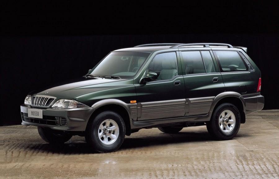 Ssangyong Musso внедорожник, 2001–2005, 2 поколение - отзывы, фото и характеристики на Car.ru