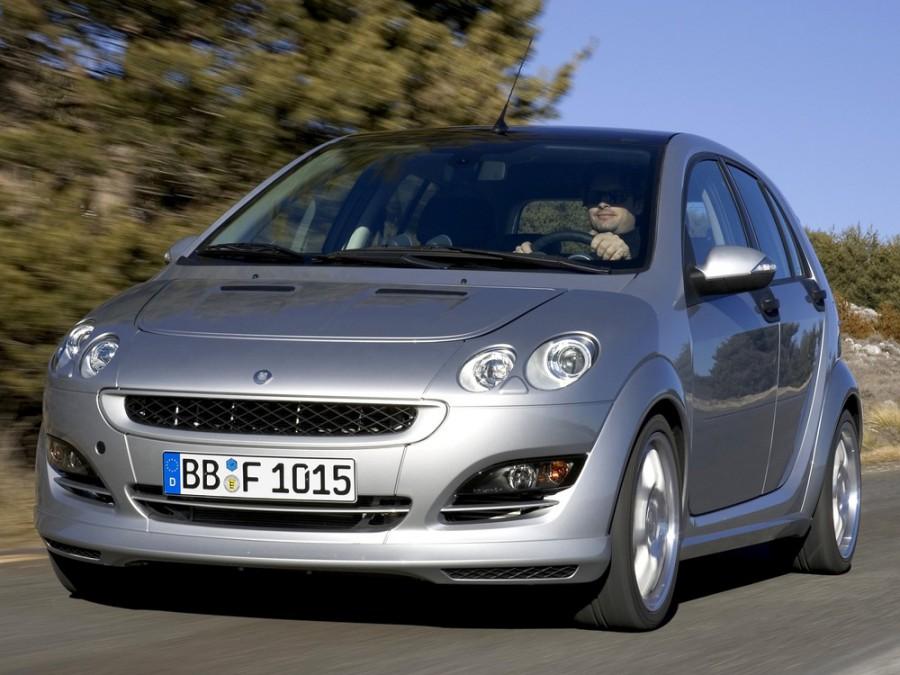 Smart Forfour Brabus хетчбэк 5-дв., 2004–2006, 1 поколение - отзывы, фото и характеристики на Car.ru
