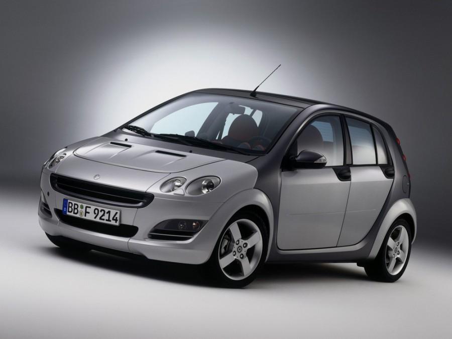 Smart Forfour хетчбэк 5-дв., 2004–2006, 1 поколение - отзывы, фото и характеристики на Car.ru