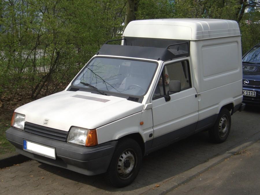 Seat Marbella фургон, 1986–1996, 1 поколение - отзывы, фото и характеристики на Car.ru