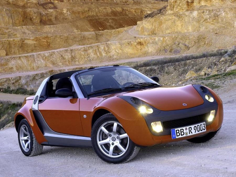 Smart Roadster родстер, 2003–2006, 1 поколение - отзывы, фото и характеристики на Car.ru