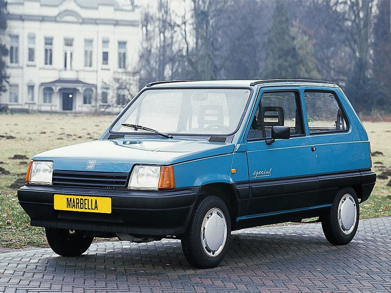 Seat Marbella хетчбэк, 1986–1996, 1 поколение - отзывы, фото и характеристики на Car.ru