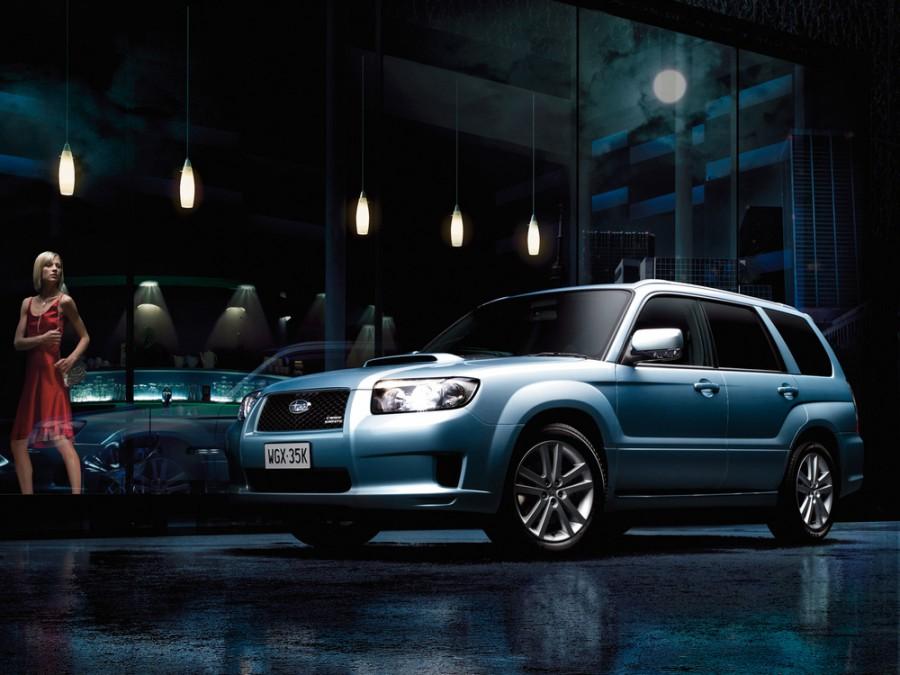 Subaru Forester Cross Sports кроссовер 5-дв., 2005–2008, 2 поколение [рестайлинг] - отзывы, фото и характеристики на Car.ru