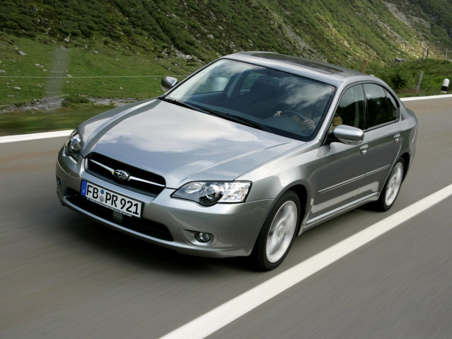 Subaru Legacy седан, 2003–2009, 4 поколение - отзывы, фото и характеристики на Car.ru