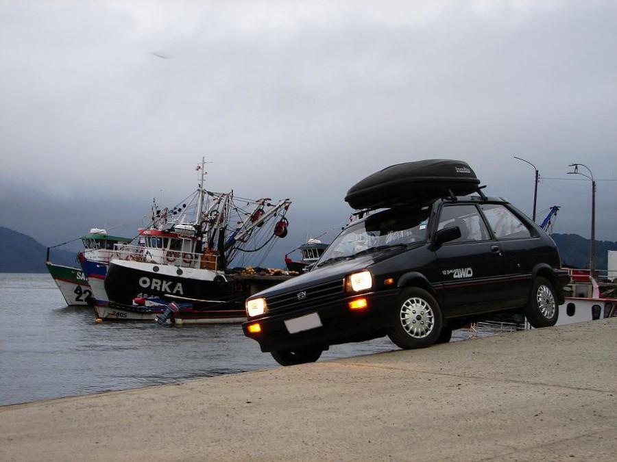 Subaru Justy, Агинское