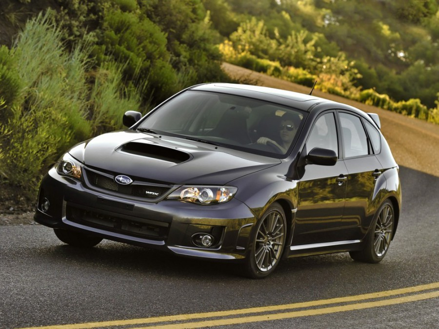 Subaru Impreza WRX хетчбэк 5-дв., 2010–2013, 3 поколение [рестайлинг] - отзывы, фото и характеристики на Car.ru