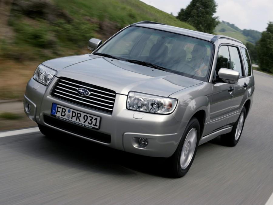 Subaru Forester кроссовер, 2005–2008, 2 поколение [рестайлинг] - отзывы, фото и характеристики на Car.ru
