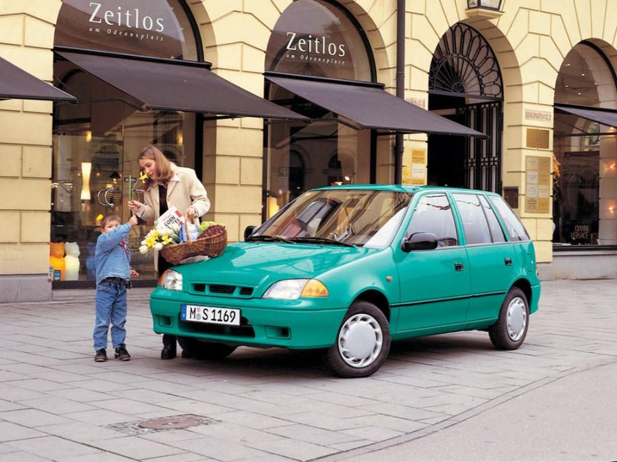 Subaru Justy хетчбэк 5-дв., 1994–2003, 2 (JMA - отзывы, фото и характеристики на Car.ru