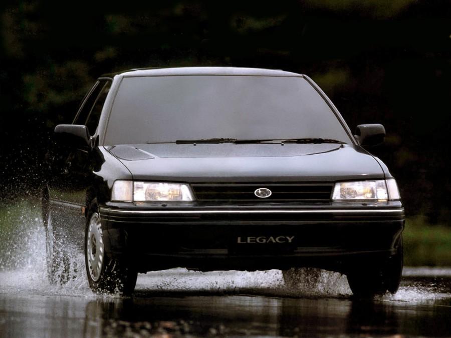 Subaru Legacy седан, 1989–1994, 1 поколение - отзывы, фото и характеристики на Car.ru