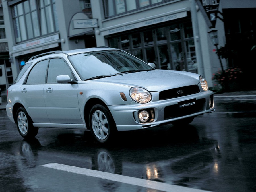 Subaru Impreza универсал, 2000–2002, 2 поколение - отзывы, фото и характеристики на Car.ru