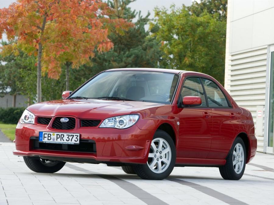 Subaru Impreza седан, 2005–2007, 2 поколение [2-й рестайлинг] - отзывы, фото и характеристики на Car.ru