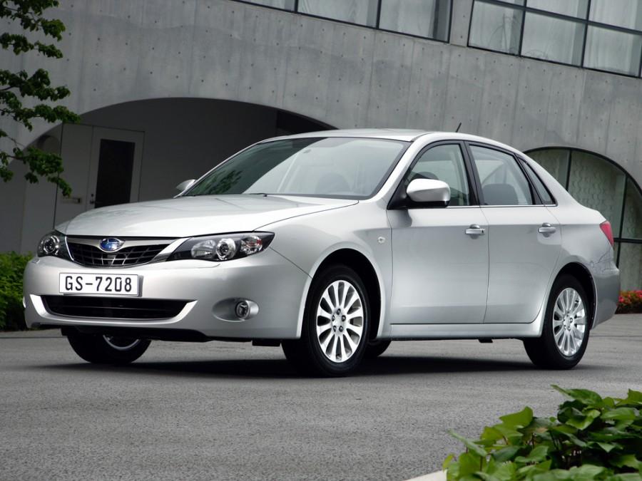 Subaru Impreza седан, 2007–2012, 3 поколение - отзывы, фото и характеристики на Car.ru