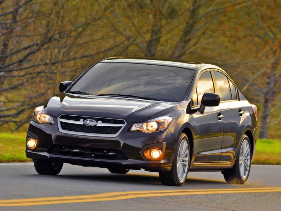 Subaru Impreza седан, 2012–2016, 4 поколение - отзывы, фото и характеристики на Car.ru