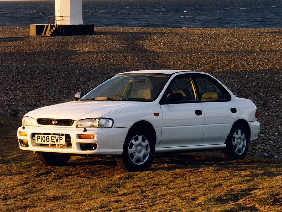 Subaru Impreza седан, 1992–2000, 1 поколение - отзывы, фото и характеристики на Car.ru