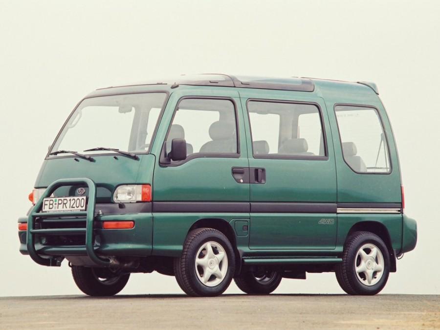 Subaru Libero минивэн, 1993–1998, Bus (E10 - отзывы, фото и характеристики на Car.ru