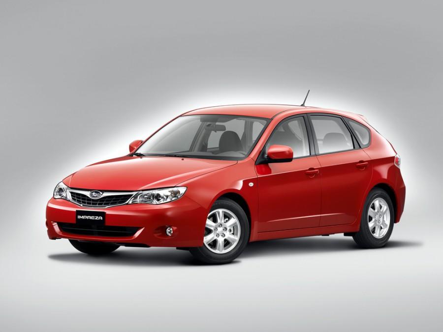 Subaru Impreza хетчбэк 5-дв., 2007–2012, 3 поколение - отзывы, фото и характеристики на Car.ru