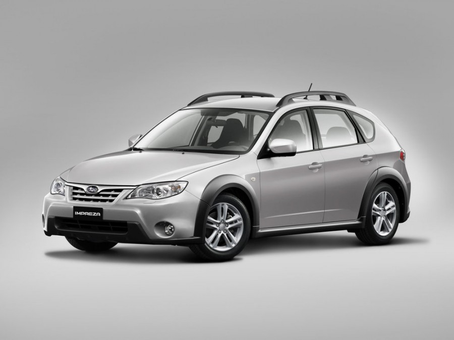 Subaru Impreza XV хетчбэк 5-дв., 2007–2012, 3 поколение - отзывы, фото и характеристики на Car.ru