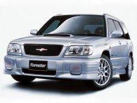 Subaru Forester, 1 поколение [рестайлинг], Sti кроссовер 5-дв., 2000–2002