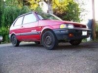 Subaru Justy, 1 (KAD) [рестайлинг], Хетчбэк 3-дв., 1989–1994