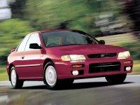 Subaru Impreza, 1 поколение [рестайлинг], Купе, 1998–2000