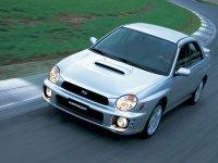 Subaru Impreza, 2 поколение, Wrx седан, 2000–2002