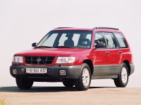 Subaru Forester, 1 поколение, Кроссовер, 1997–2000