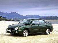 Subaru Impreza, 2 поколение, Седан, 2000–2002