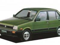 Subaru Justy, 1 (KAD), Хетчбэк 5-дв., 1984–1989