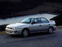 Subaru Impreza, 1 поколение [рестайлинг], Седан, 1998–2000