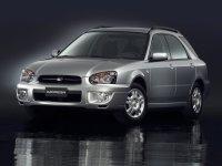 Subaru Impreza, 2 поколение [рестайлинг], Универсал, 2002–2007