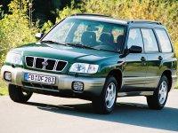 Subaru Forester, 1 поколение [рестайлинг], Кроссовер, 2000–2002