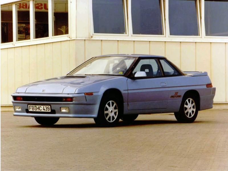 Subaru XT купе, 1987–1992, 1 поколение - отзывы, фото и характеристики на Car.ru